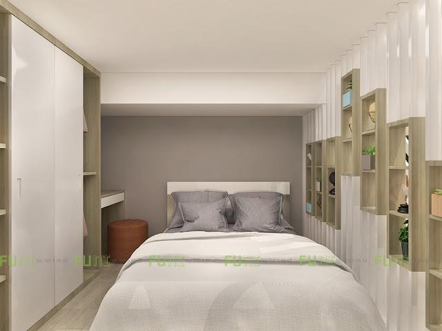 Hình ảnh thiết kế nội thất chung cư 30m2