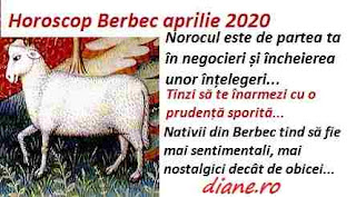 Horoscop aprilie 2020 Berbec