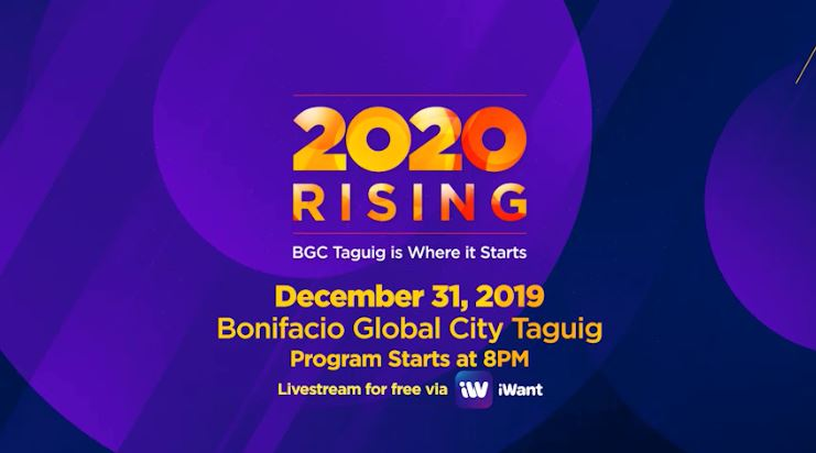 2020 Rising - The ABS-CBN and Taguig City New Year Countdown
