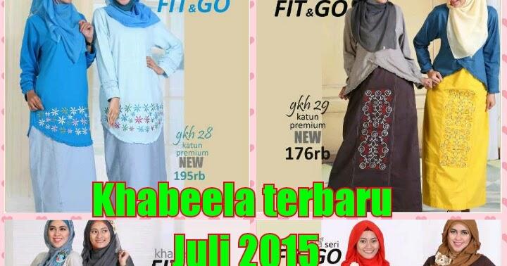 Gamis khabeela sikclothing terbaru 2015 Baju gamis elif