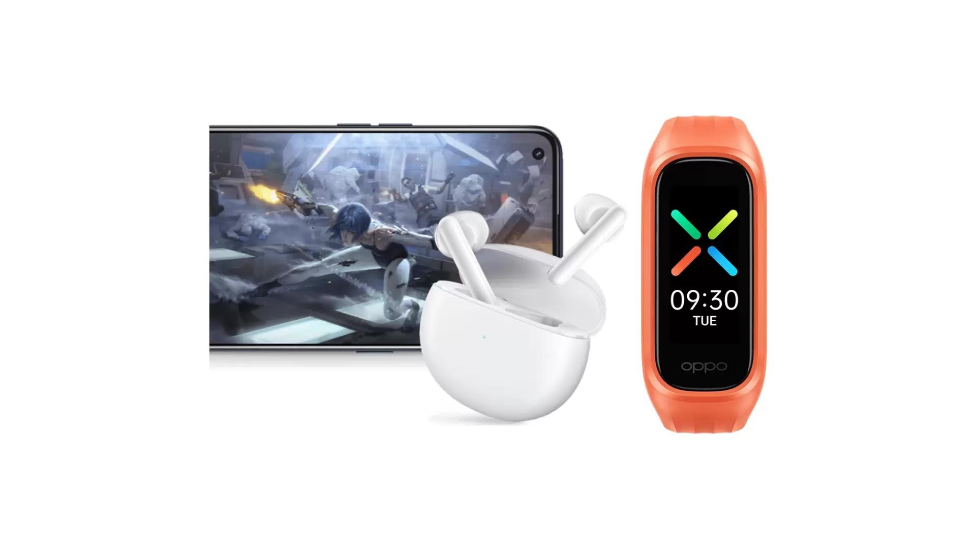 চীনে Oppo Enco Air এবং Oppo Band Vitality Edition হল লঞ্চ