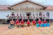 Hadapi Karhutla, Polres Melawi Cek Kelengkapan Pemadam Kebakaran di Perusahaan