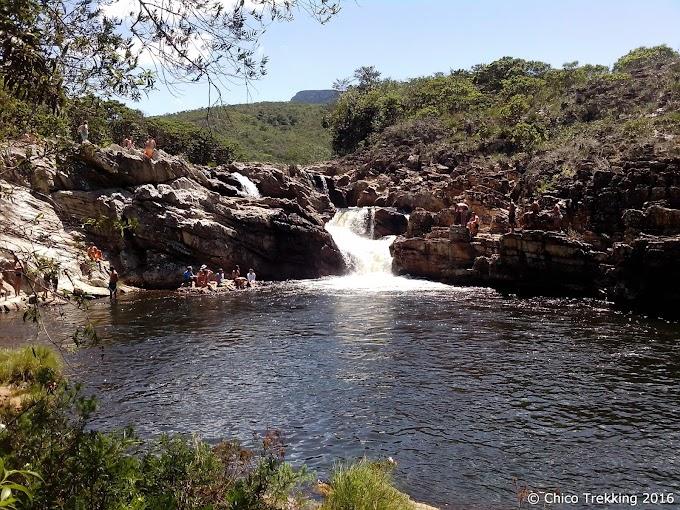Cachoeira dos Marques: refresco na Serra dos Alves