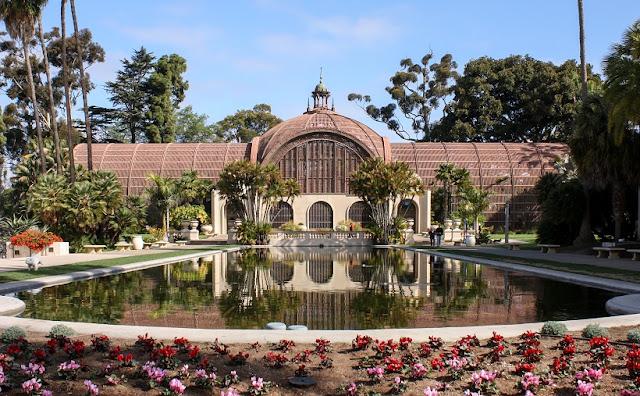 Atrações no Balboa Park em San Diego