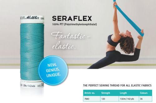 Seraflex fantastic elastic sewing thread