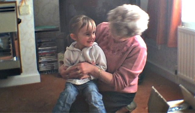 My great aunt with my eldest