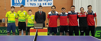 Tenis Mesa CTM Ocaña  - CTM Aranjuez