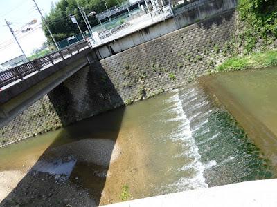 八幡橋と天の川
