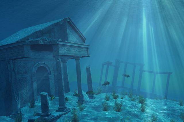 Underwater Ruins, Japan