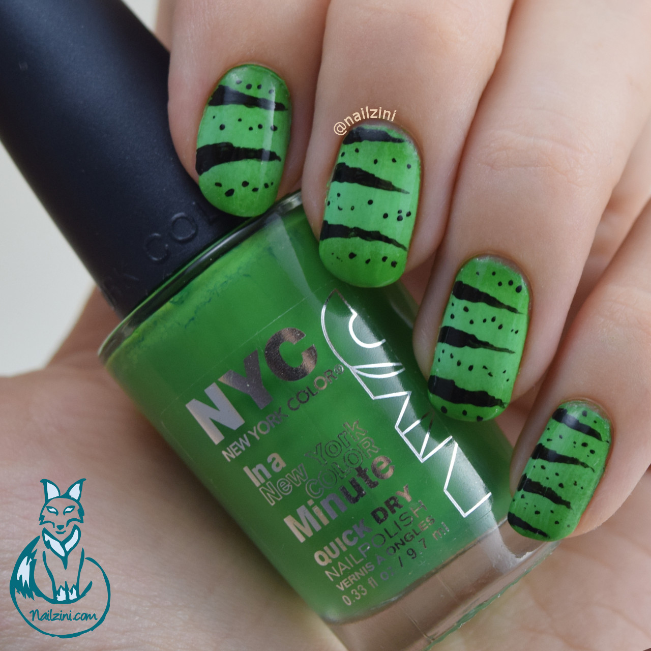 Chameleon Nail Art High Line Green New York Color