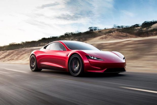 PHOTOS : TESLA ROADSTER
