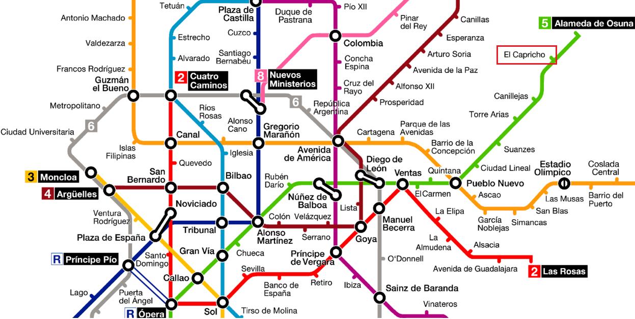 Parque Del Capricho Mapa.El Parque Del Capricho En Madrid Preparar Maletas Blog De