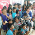 Boots Anson Roa And TV5 Treat 30 Children Of Burnham Park Vendors To A Meaningful Read Along Program