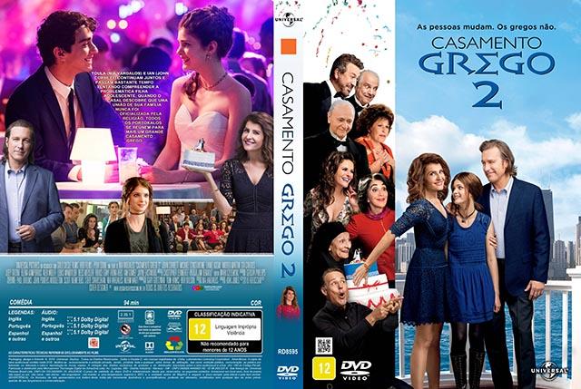 CASAMENTO GREGO 2 (2016) DUAL AUDIO DVD-R OFICIAL