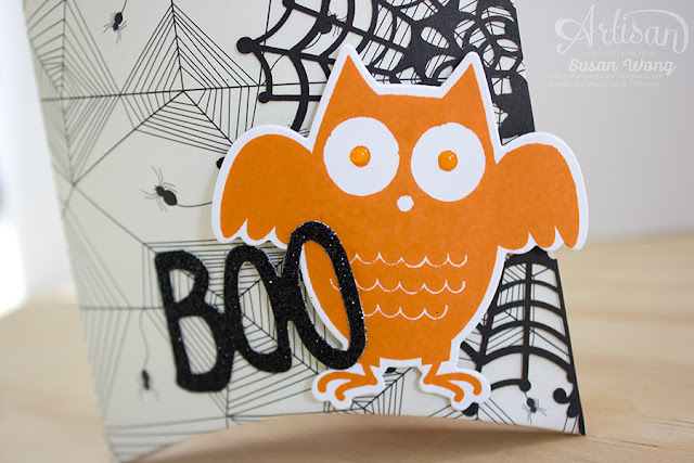 Howl-O-Ween Treats + Boo to You Goodie Bags (detail) ~ Susan Wong