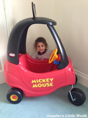 Review - Little Tikes Mickey Mouse Cozy Coupe
