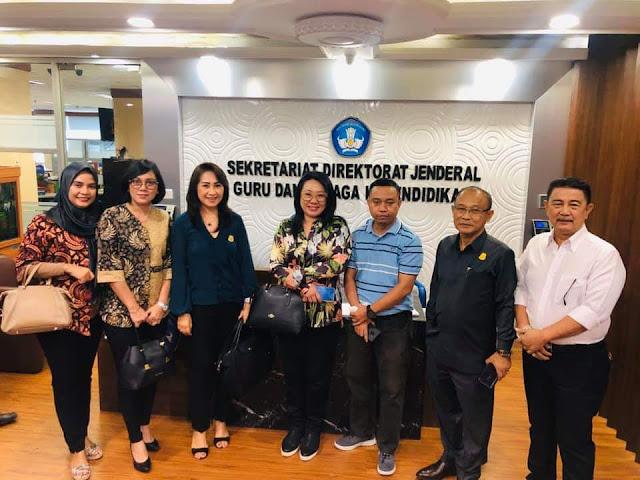 Komisi IV DPRD Kota Manado Kunker Ke Kemendikbud