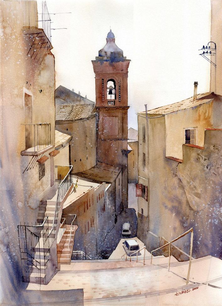 Grzegorz Wróbel | Polish Watercolor Artist | City Paintings