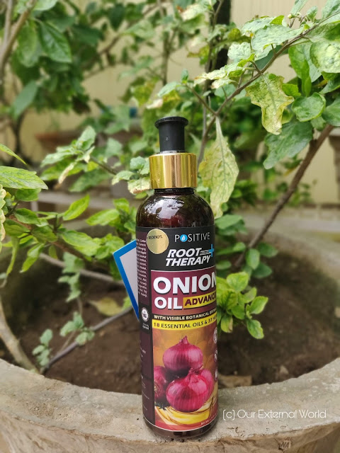 POSITIVE Root Therapy + Advanced Onion Oil for Hair Growth - Review