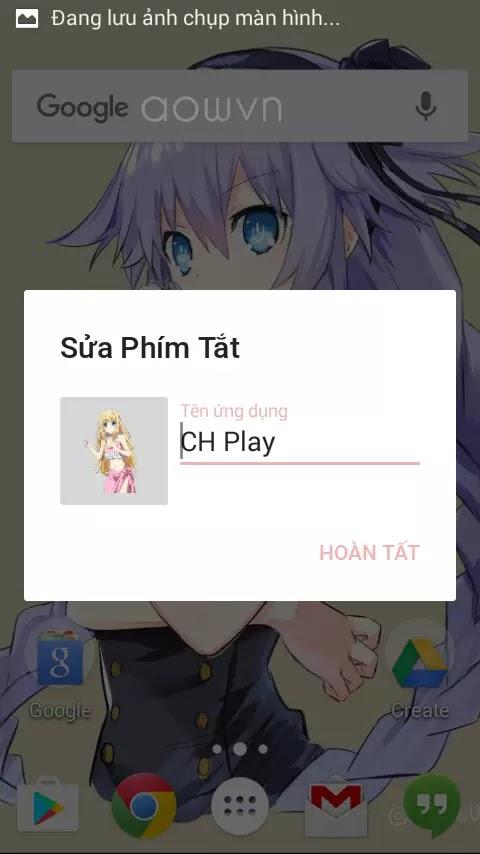 aowvn laucher7 - [ Hướng dẫn ] làm Theme Anime cho android | Nova Launcher