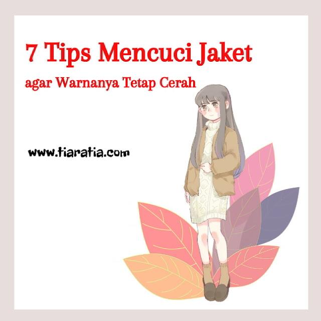 tips mencuci jaket
