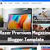 Razer Magazine Premium Blogger Template Free Download