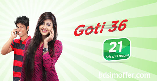 Robi NEW Goti 36 Package