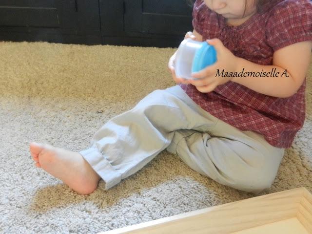 || Plateau sensoriel : Le doseur de lait