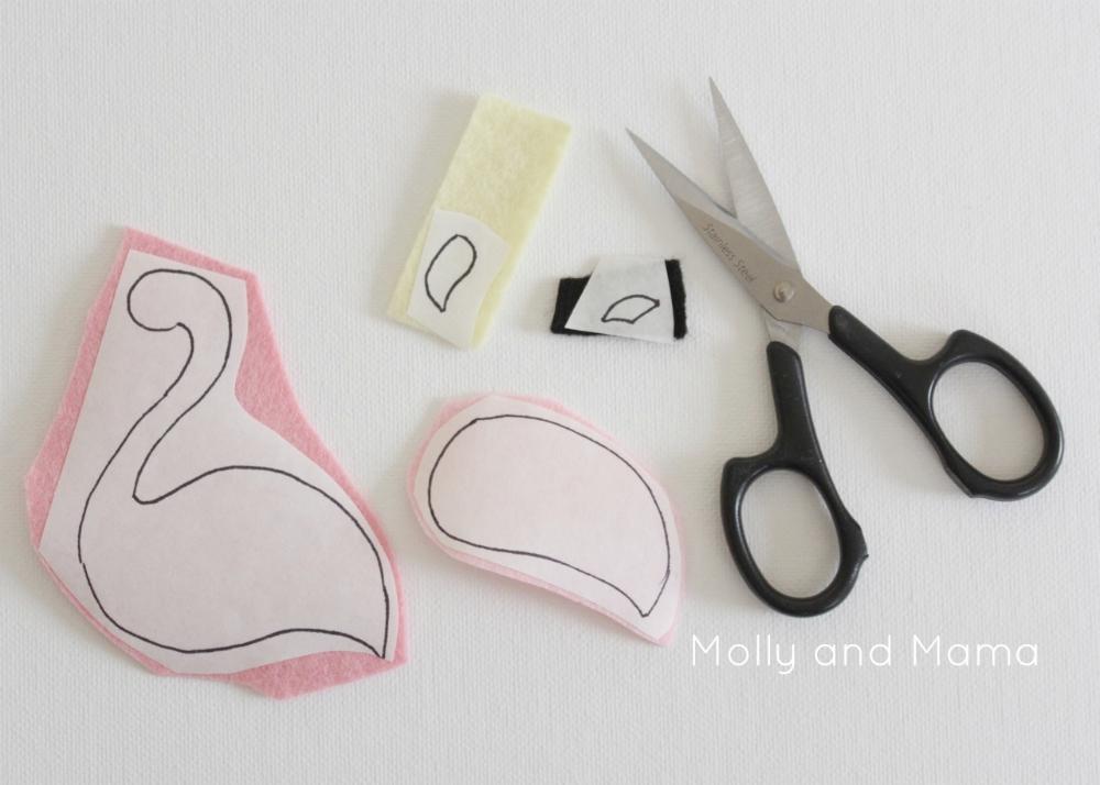 flamingo beak template - stitches summer bloggin 39 flamingo pin cushion with