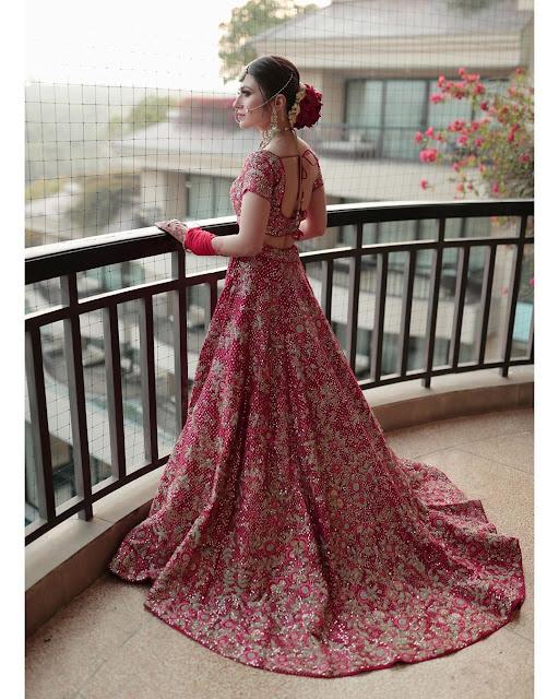 Yashika Khatri - Beautiful Bridal Wallpaper HD