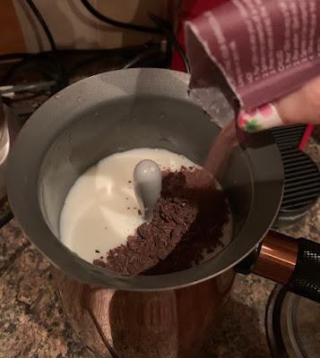 Black Forest Gateau Drinking Chocolate (Hotel Chocolat)