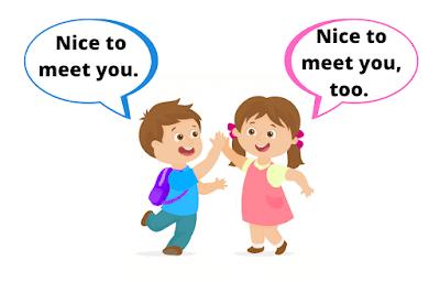 Lời chào trong giao tiếp tiếng Anh