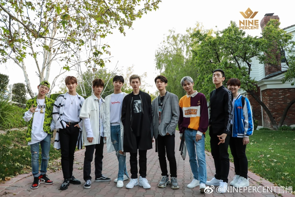 Nine Percent Drops First Picture As A Group Dramapanda