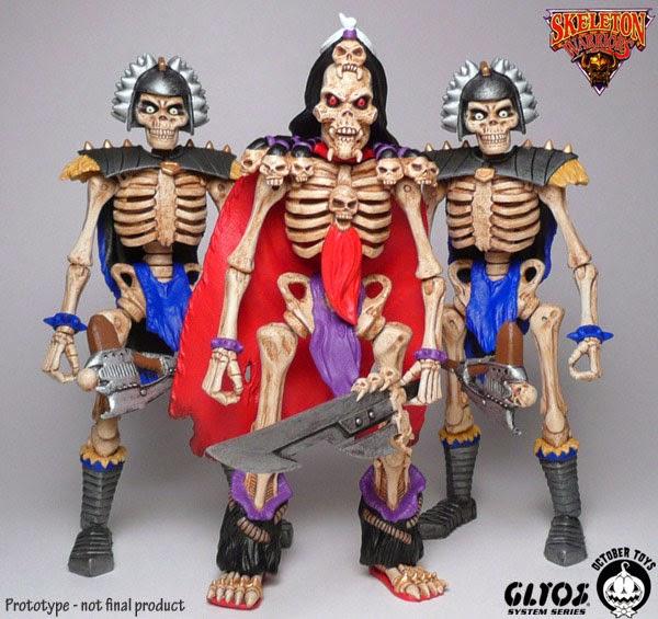 Skeleton Warriors Toys 56