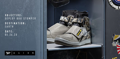 ALIEN USCM Bug Stomper Capsule Collection by Reebok & Anthony Petrie