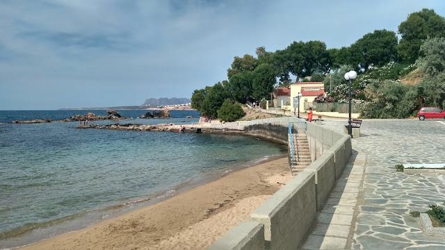 plaża w Chanii, jak wygląda, jak dojechać?