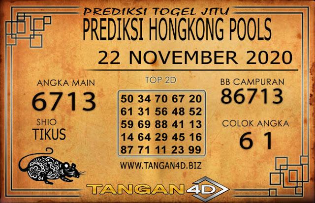 PREDIKSI TOGEL HONGKONG TANGAN4D 22 NOVEMBER 2020
