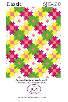 Dazzle quilt pattern Sew Joy Creations