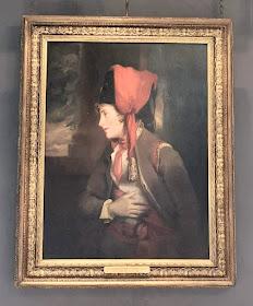 Mrs Jordan by John Hoppner in the music room, Kenwood (2019)