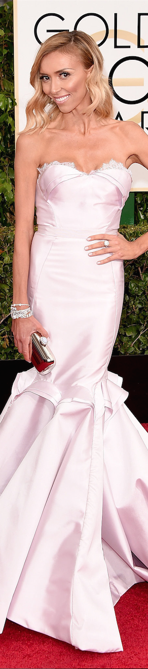 Guiliana Rancic 2015 Golden Globes