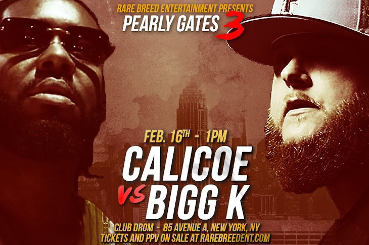 RBE Announce Bigg K vs Calicoe At Pearly Gates 3