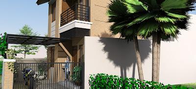 Desain Rumah Minimalis 2 lantai 5
