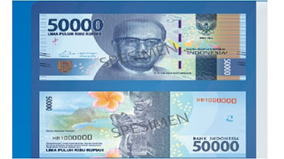 Uang baru 50.000