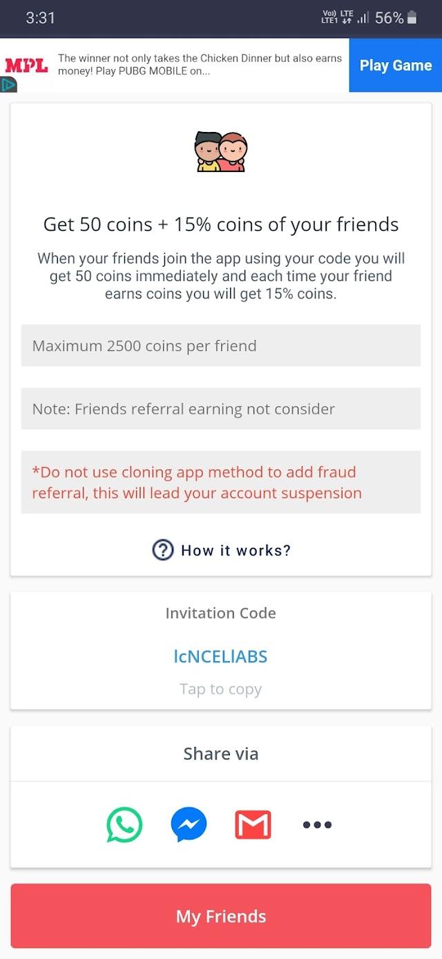 Earn free PUBG UC, PUBG LITE UC, FreeFire Diamonds,Paytm/PayPal Cash & many more by playing games