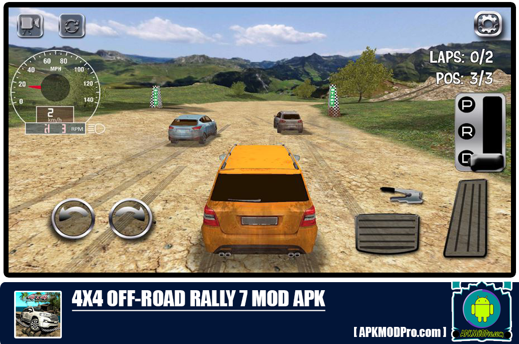 Download 4X4 Off-Road Rally 7 MOD APK