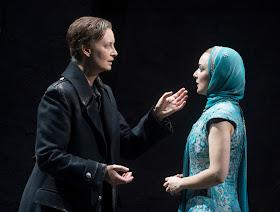 Handel: Giulio Cesare - Maria Sanner, Lucie Chartin - Opera North 2019 (Photo Alastair Muir)