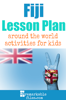 Building the perfect Fiji lesson plan for your students? Are you doing an around-the-world unit in your K-12 social studies classroom? Try these free and fun Fiji activities, crafts, books, and free printables for teachers and educators! #Fiji #lessonplan