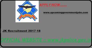 get lastest update on jk police jobs in jammu and kashmir