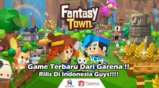Download Garena Fantasy Town Simulasi Apk Terbaru