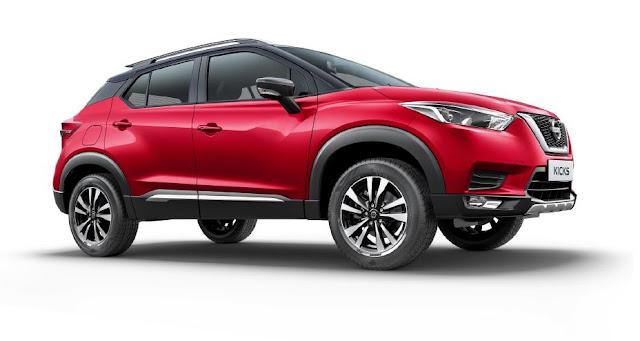 Nissan KICKS totalmente renovado será lançado na Índia com motor turbo e aclamado CVT X-tronic Preview-928x522
